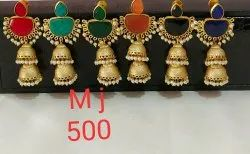 Met long jhumka