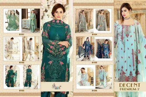 ef3e39be01 Unstitched Georgette Designer Pakistani Suit, Rs 1299 /piece | ID ...