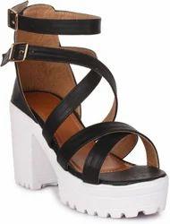 Ladies Heel Sandals