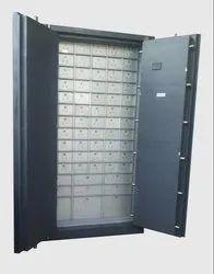 Double Door Safe Deposit Locker