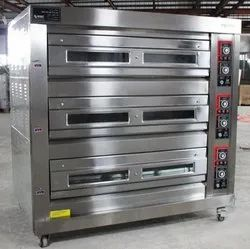Gas 3  Deck 9 Tray Oven