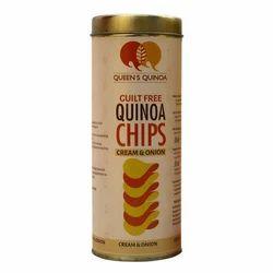 Cream Onion Quinoa Chips, Guilt Free