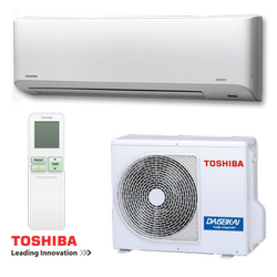 5 Star Split Toshiba Air Conditioner, Capacity: 1 To 100 Ton