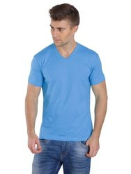 Jockey Azure Blue V-Neck T-shirt