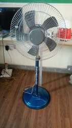 4 Copper 5 Blade Pedestal Fan, For Domestic