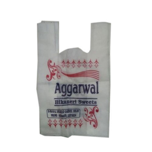 White & Cream Sweets Non Woven Carry Bag