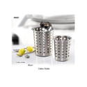 Silver Stainless Steel Cutlery Holder, Size: 11 X 13 Cm