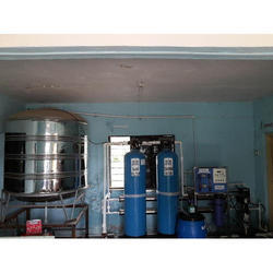 Semi Automatic Reverse Osmosis System, Voltage: 220 V