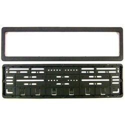 Car Number Plates Frame -( Number Plates Holders) Front & Rear