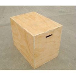 Plywood Square Wooden Plyo Box