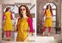 Aaisha Cotton And Rayon With Printed Straight Kurtis