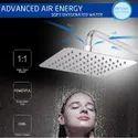 10X 10 Ultra Slim Rain Shower Head