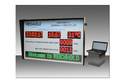 Rectangle Mild Steel Safety Display Performance Score Board, Letter Height: 1/3/4/6/12 Inch