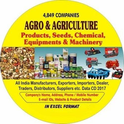 Agro & Agriculture Companies Data Cd - KK International