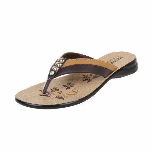599ec2fa3b702 Ladies Daily Wear PU Sleeper, Packaging Type: Box, Rs 140 /pair | ID ...