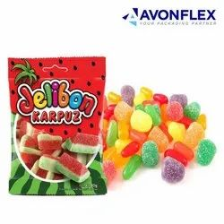 Printed Laminated Candy Packaging Pouches