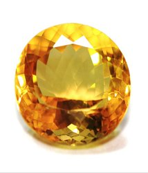 Citrine Gemstone With Gemstone