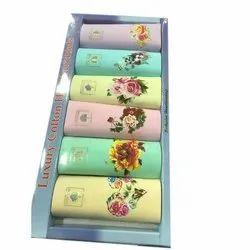 Floral Print Ladies Cotton Handkerchief, Machine Wash, Handwash, Size: 6 X 6 Inch