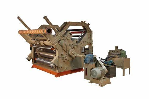 Corrugated Box Making Machine - Double Profile Single Facer