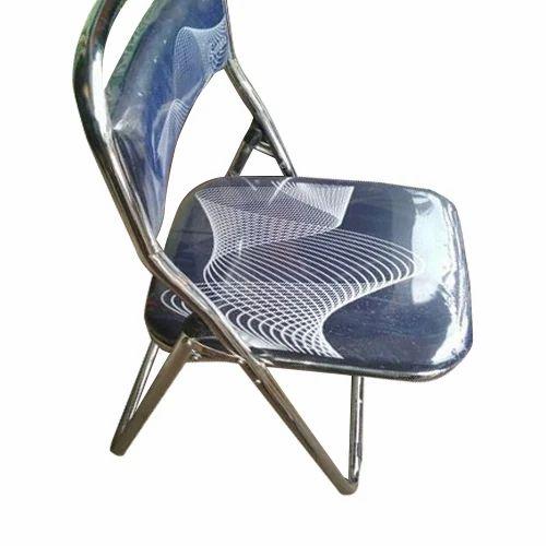 Suhana Blue Chrome Chairs