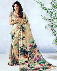 Satin Saree