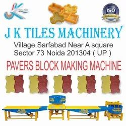 Zig Zag Concrete Paver Block Machine