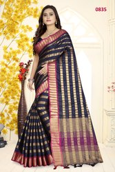 Riva Enterprise Designer Weaving Silk  Wedding Wear Saree