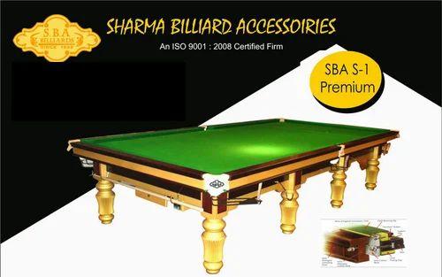Sba Billiards Table Billiard Ki Mej बलयरड टबल - Star pool table