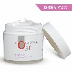 O3  D-Tan Pack for Instant Skin Brightening and Lightening De Tan Removal Mask (300gm)