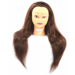 Professional Long Human Hair Dummy For All Purpose