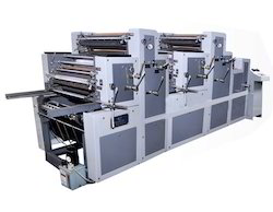 Four Color Non Woven Bags And Paper Printing Machine