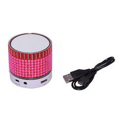 Zydeco S35U Bluetooth Speaker (White & Pink)