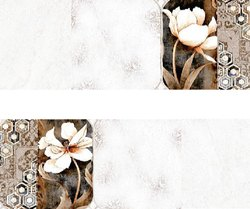 SakarMarbo White Ceramic Matt Wall Tile 300_600mm Series1 2010