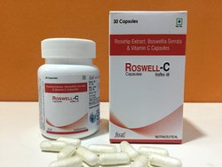Rosehip Extract, Boswellia Serrata With Vitamin-C Capsules, Packaging Size: 30 Per Bottle