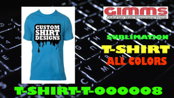 Mens Plain Half Sleeve Cotton Blue Round Neck T Shirt