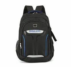 Polyester Black Fashion School Bag
