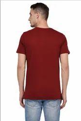 Zuirish Enterprises Red Designer Cotton T Shirt