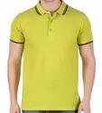 Half Sleeve Promotional Cotton Collar T Shirt