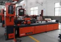 PIPE / TUBE PUNCHING MACHINE