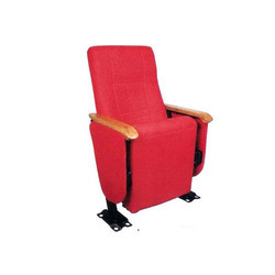 Tip Up Red Auditorium Chairs