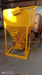 Tower Crane Banana Center Discharge Concrete Bucket