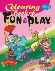 Coloring Book Of Fun & Play Book