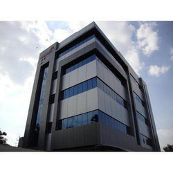 ACP Cladding Work, India