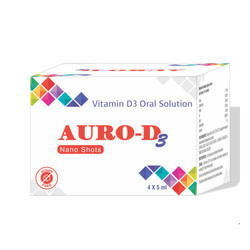 Auro D3 Nano Shots Oral Solution