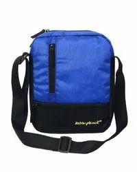 kelvin planck polyester Navy blue Wear sling bag-Shoulder bag, 90 Gm, Size: 9x11x2