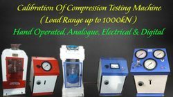 Repair and Calibration of Compression Testing Machine- CTM