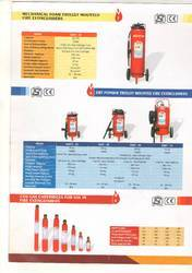Mechanical Foam Type Fire Extinguisher Refilling 09 Liter Capacity