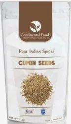 Continental Foods Cumin Seeds, Packaging Type: Standup Zip-Lock Pouch
