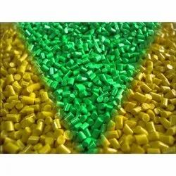 Colored Recycled Plastic Granules