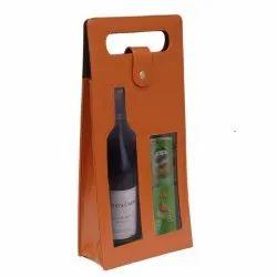 KC503 Leather Wine Bottle Box